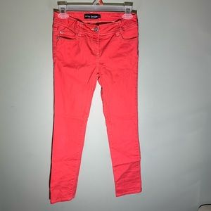 Girls mini boden pants Coral size 12Y